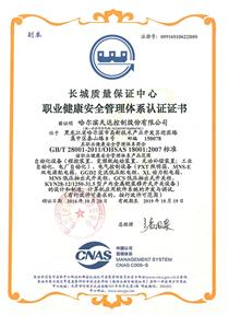 職業健康安全管理體系(中文)
